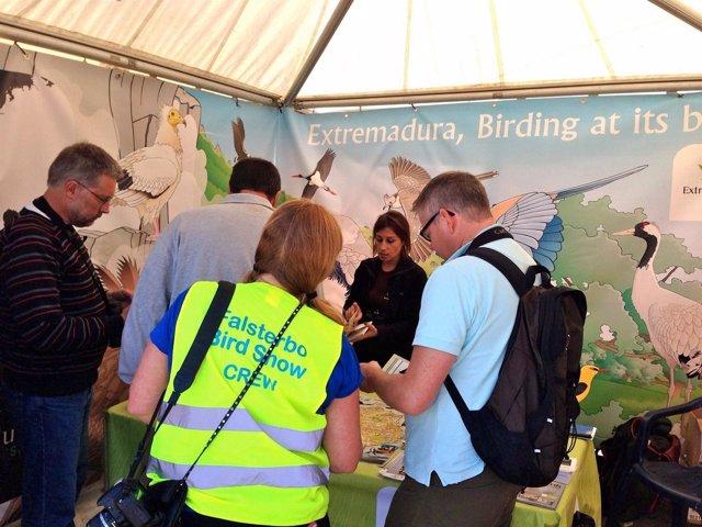 Extremadura en la Feria de Turismo Ornitológico de Suecia