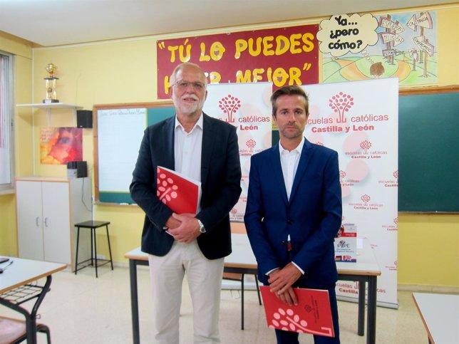 Antonio Guerra y Leandro Roldán, de ECCyL.