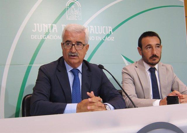 Manuel Jiménez Barrios, vicepresidente de la Junta de Andalucía