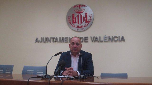 Calabuig, durante la rueda de prensa posterior a la Junta de Gobierno Local