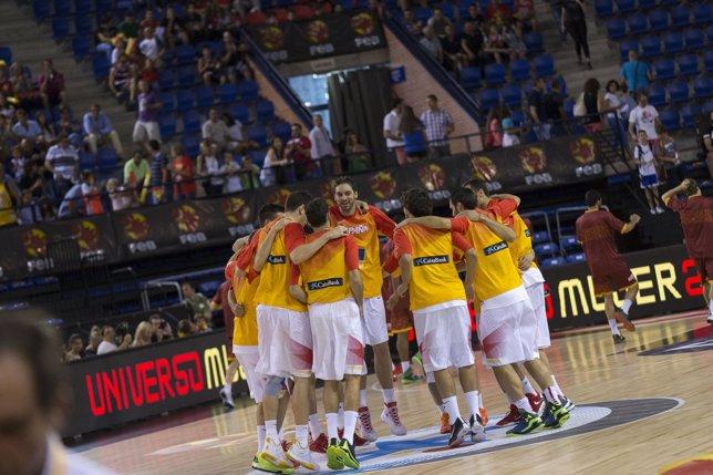 Pau Gasol dirige a la selección española de baloncesto