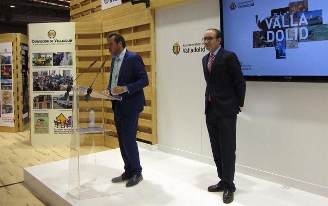 Presentación del expositor conjunto del Ayuntamiento y la Diputación
