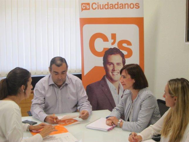 Grupo municipal de C's en Zaragoza