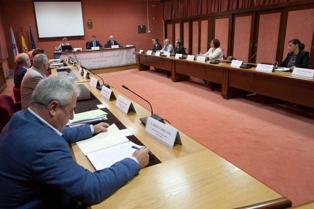 Reunión del Consello para a Convivencia Escolar