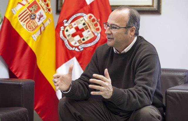 Luis Rogelio Rodríguez-Comendador durante un entrevista concedida a Europa Press