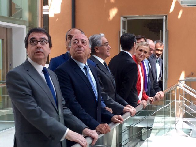 Cristina Cifuentes y los rectores