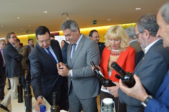 El conseller J.Ciuraneta visita la DOP Les Garrigues