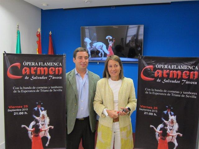 La ópera Carmen de Salvador Távora llega a Cáceres