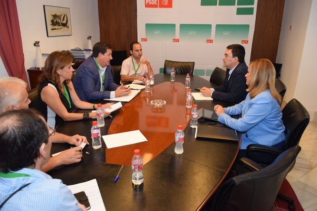 Reunión de PSOE-A y Cepes, este viernes