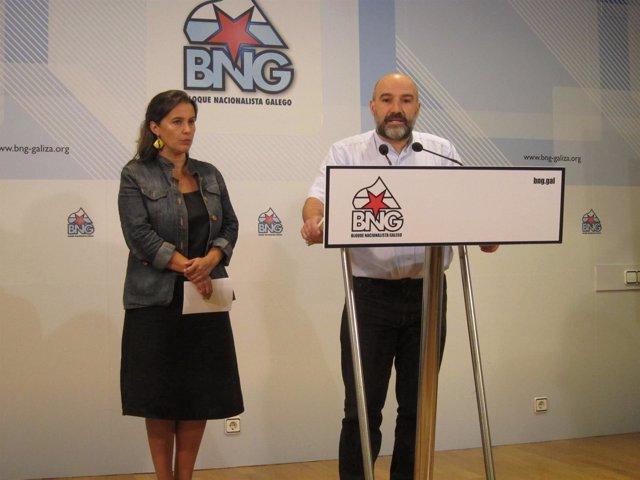 Ana Miranda y Néstor Rego (BNG) presentan propuestas para refugiados