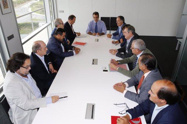 Reunión de la Mesa de Comercio