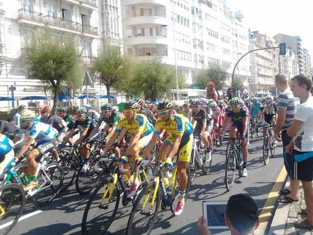 Vuelta ciclista a España en Santander