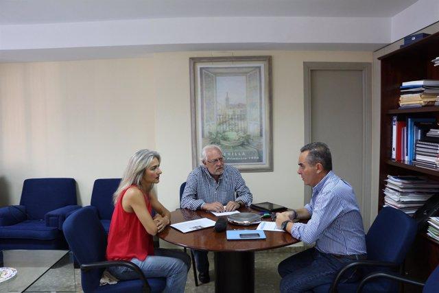 Reunión de parlamentarios del PP de Sevilla