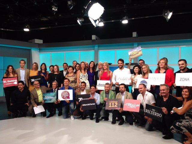 Presentación de la programación de '7 Región de Murcia'