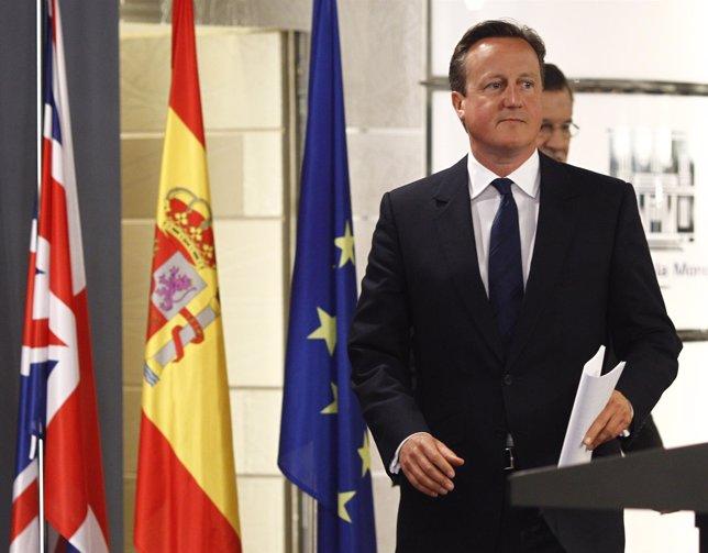David Cameron en Moncloa