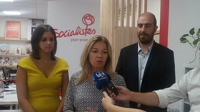 La dirigente socialista Concha Andrés