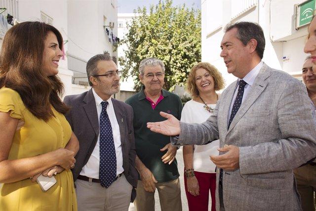 Espadas visita el C.P. Huerta del Carmen.