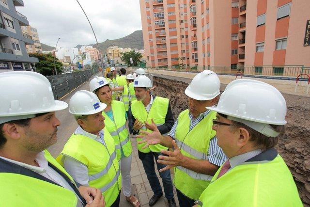 Visita a la avenida Venezuela en Tenerife