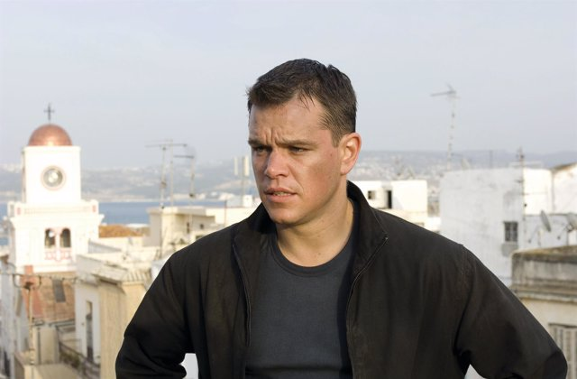 Matt Damon en The Bourne Ultimatum