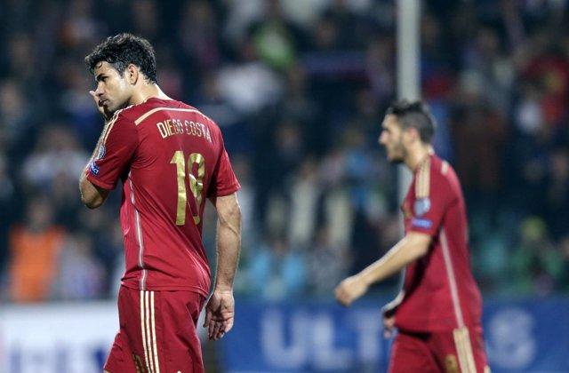 Diego Costa Koke selección española