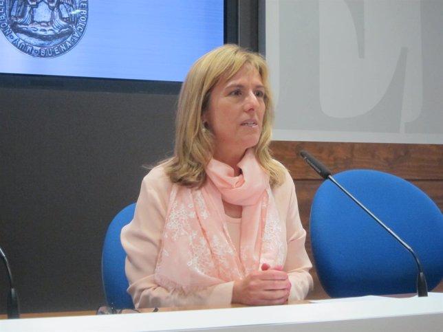 Marisa Ponga, concejala socialista en Oviedo