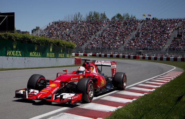 Vettel domina la sesión de libres