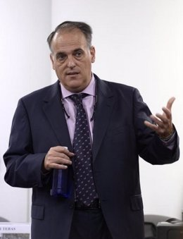 Javier Tebas, presidente de la LFP
