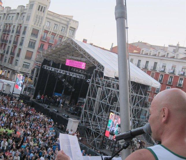 Jesús Cifuentes, solista de Celtas Cortos, pregona las Fiestas de Valladolid