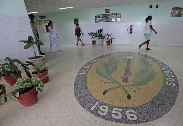 Hospital en la ciudad cubana de Cienfuegos