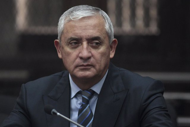El expresidente de Guatemala Otto Pérez Molina comparece en un tribunal