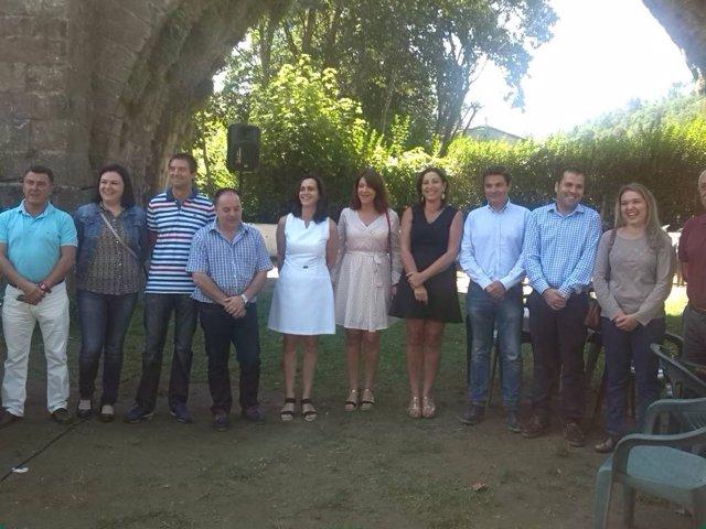 Diputados del PP visitan Cangas de Onís