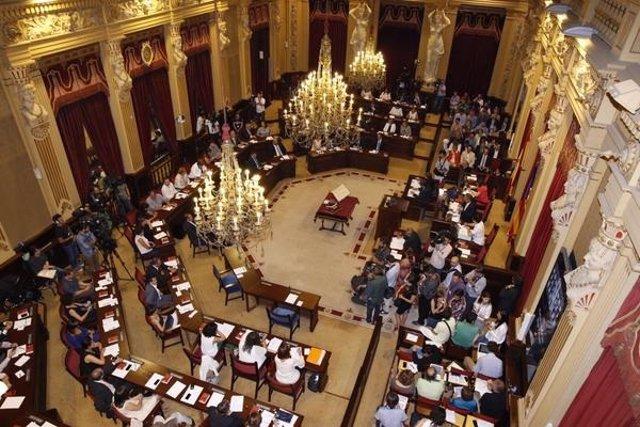 Parlament en la IX Legislatura