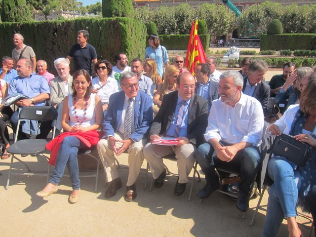 S.Paneque, A.Ros, M.Iceta y J.Collboni (PSC)