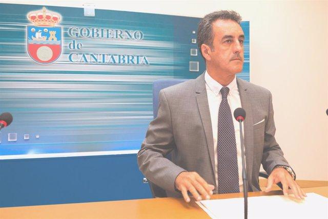 El consejero de Innovación, Industria, Turismo y Comercio, Francisco Martín