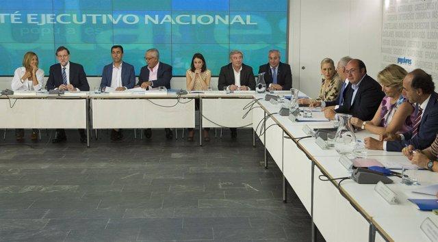 Imagen del Comité Ejecutivo Nacional del PP