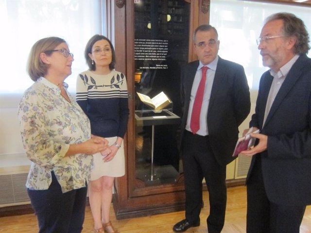 Inauguración de la exposición 'Tesoros de la Lengua Castellana'