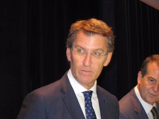 El presidente de la Xunta en Vigo