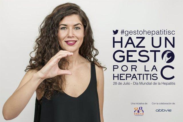 Campaña 'Haz un gesto por la hepatits C'