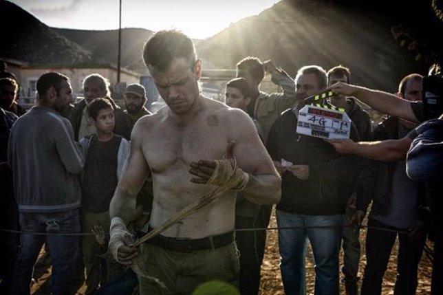 Matt Damon En El Rodaje De Borune 5