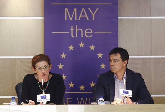 Andrés Herzog y Maite Pagazaurtundua, de UPYD