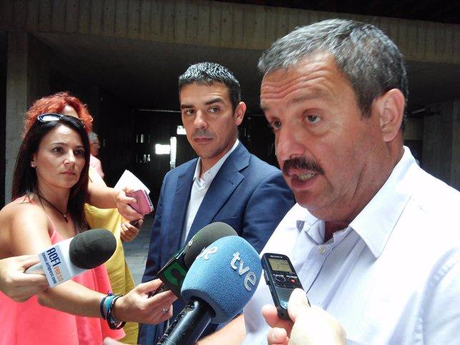 Narvay Quintero y Rafael Hernández