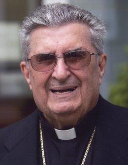 El obispo emérito de Oviedo, Gabino Díaz Merchán