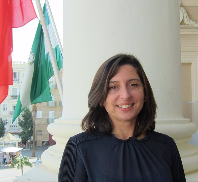Victoria Rodríguez Machuca, concejal del PSOE en el Ayuntamiento de Cádiz