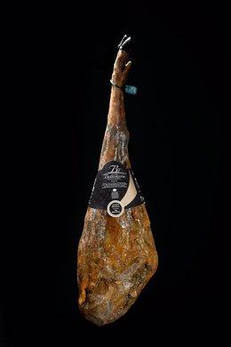 El jamón ibérico puro de bellota de Belloterra galardonado