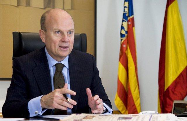 El exconseller de Economía y diputado del PP Máximo Buch, en imagen de archivo