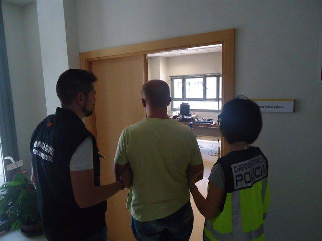 Detenido por la Policía Nacional