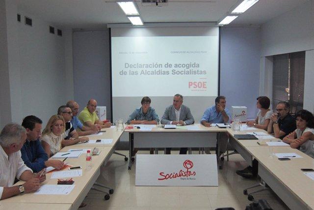 Reunión del Consejo de Alcaldías