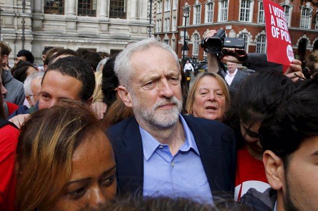 Jeremy Corbyn, candidato a liderar el Partido Laborista