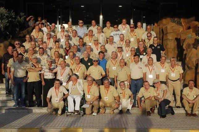 Veteranos sahara reunión torremolinos