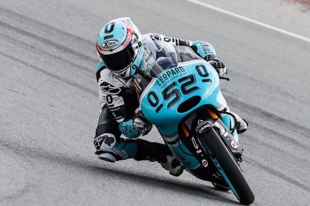 El piloto británico de Moto3 Danny Kent